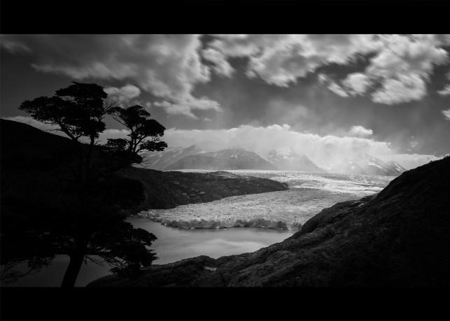 Shrinking Grey's Glacier