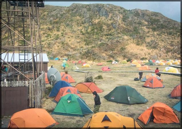 Too many tents