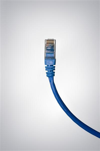 Ethernet cable in the center