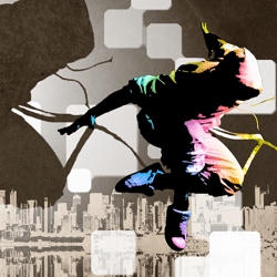 Street Dance Illustration Photoshop Tutorial