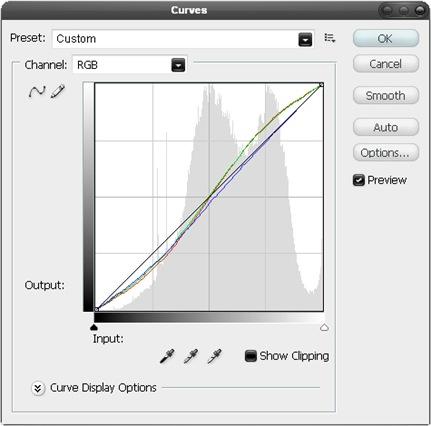 Curves tool