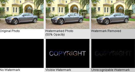 50% Opacity Watermark