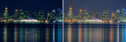 Single Exposure vs Tone Map