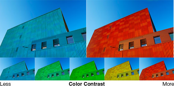 Below Is An Example That Compares The Color Contrast With Less Image Will Look Dull And Quiet High Makes Photos
