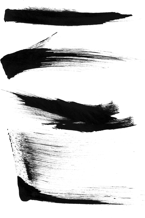 Sumi Brush Strokes