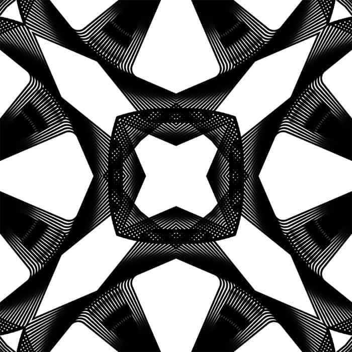 Spirograph pattern closeup