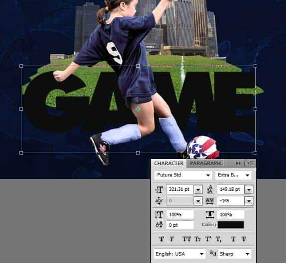 Create a Sports Wallpaper with Splatter Effects - Page 2 of 3