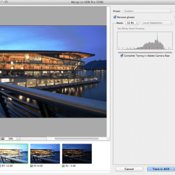 Merge to HDR Pro