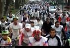 Iranian Cyclists Mark World Diabetes Day 01