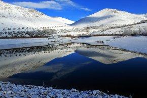 Zanjan, Iran - Zanjan's Autumn Snowfall 05