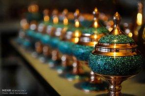 Iranian Art - Handicrafts - Inlaid Turquoise 08