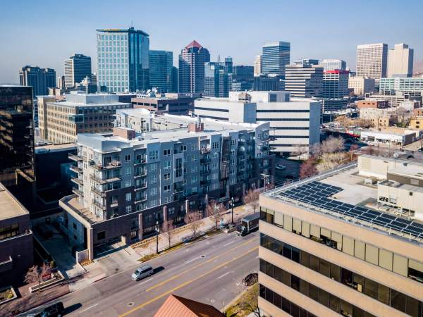 Downtown Aerial Images