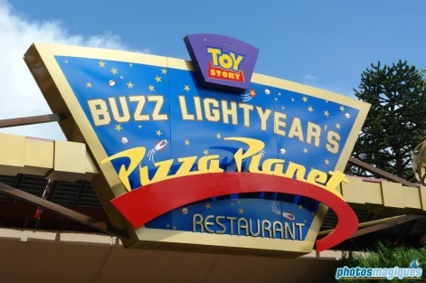 Buzz Lightyear's Pizza Planet