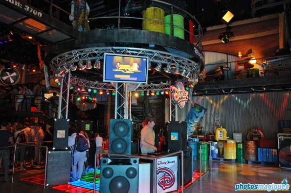 Television Production Tour: Zapping Zone