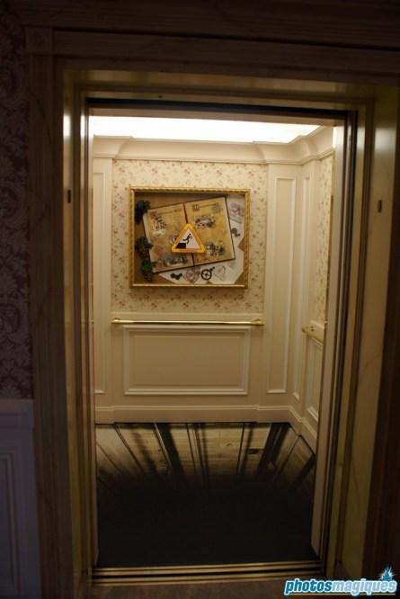 Disney Hotels elevators