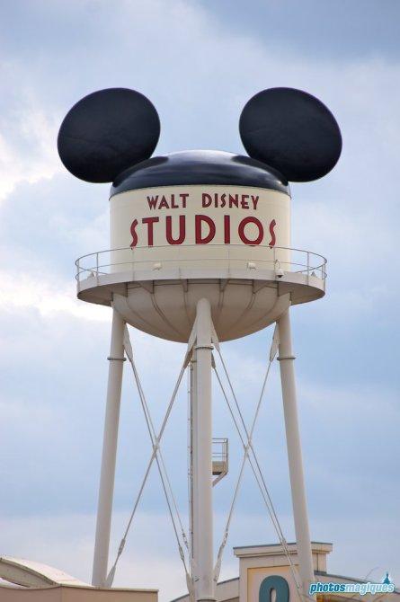 Earffel Tower at Walt Disney Studios Park