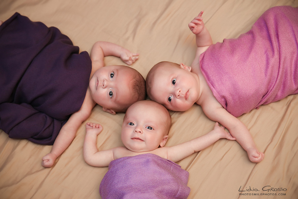 Triplet baby pictures