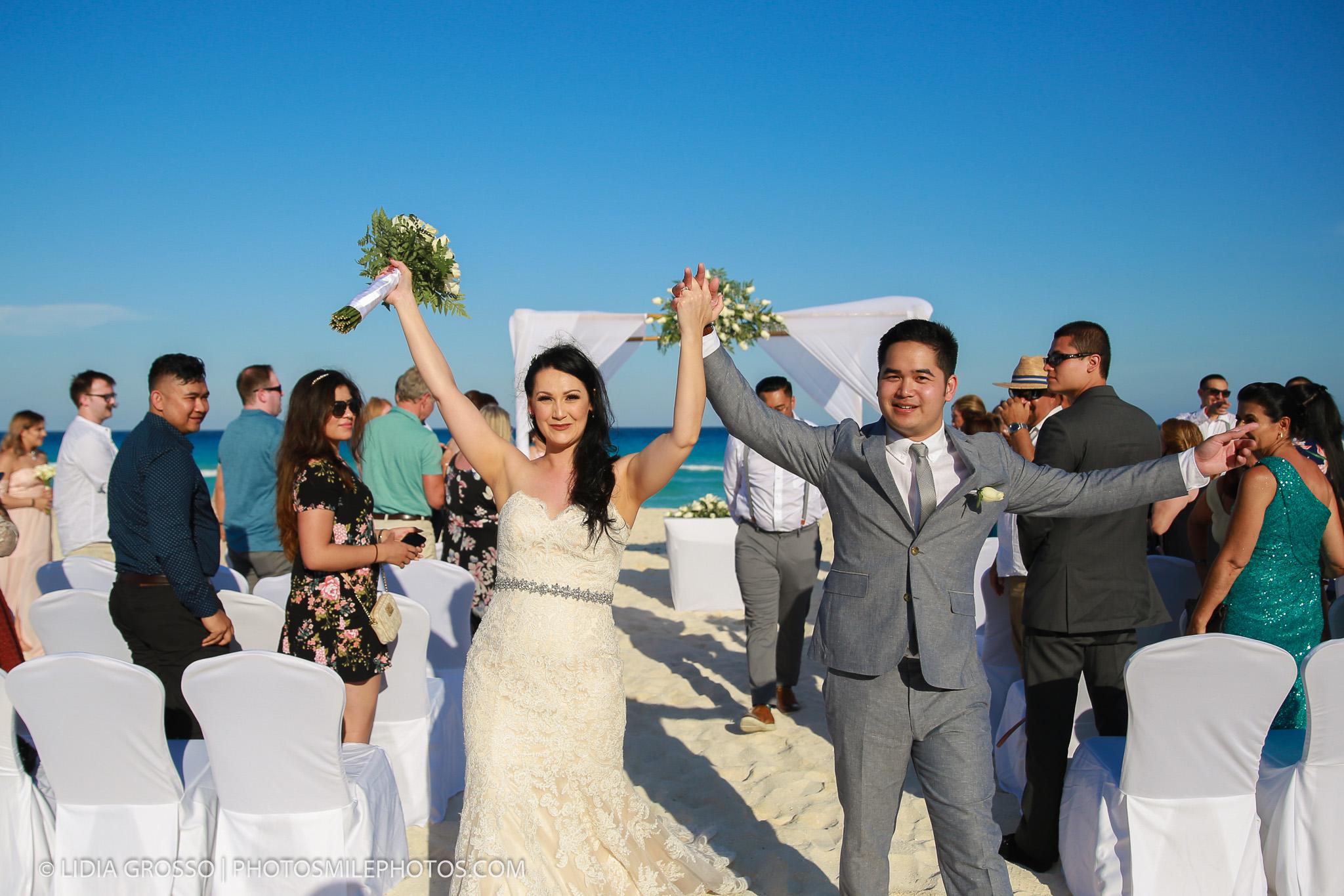 Kasia & Jake Wedding Iberostar Cancun | Lidia Grosso Photography ...