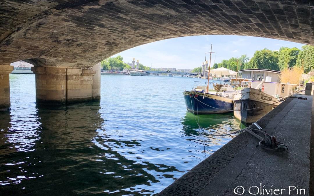 Balade sous les ponts…