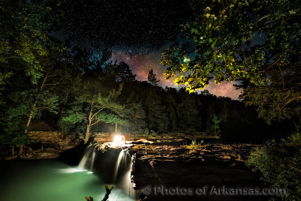 Falling Water House Wallpaper 06 18 16 Featured Arkansas Landscape Photography Nighttime