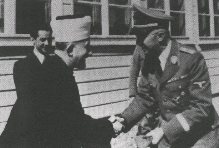 """Résultat de recherche d'images pour """"photos d'Hitler et du grand mufti de Jérusalem"""""""