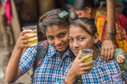 Flower market Calcutta Inde