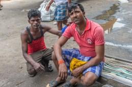 Porteur Kolay market Calcutta Inde