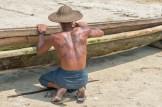 Village de pâcheurs Nagpali - Etat d'Arakan