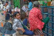Thiri Mingala Market Yangoon.