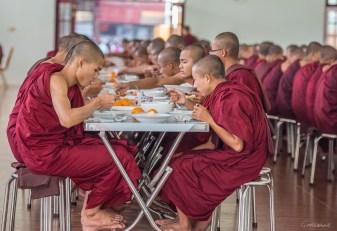 Monastère près de Mandalay