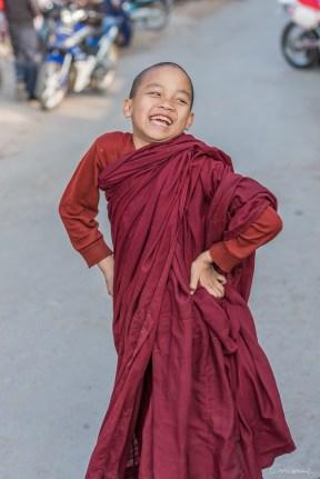 Jeune moine à Pyin oo Lwin