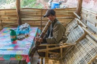Vers les villages Palaung. Région Hispaw