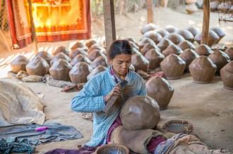 Potière région de Sagain