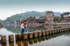 Pont de pierre - Xiangxi (Phoenix city) - Hunan - Chine