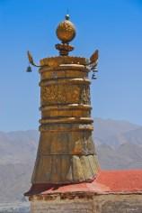 Dôme de toit - Drepung Monastery - Lhassa - Tibet