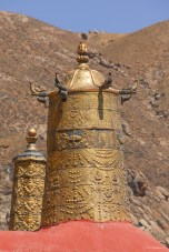 Cônes de toit - Drepung Monastery - Lhassa - Tibet