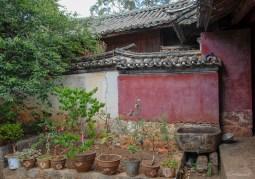 Jardin du temple de Lijiang - Yunnan - Chine