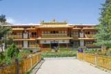 Norbulingka ancienne résidence d'été des dalaï-lamas depuis le milieu du XVIII s. -Lhassa - Tibet