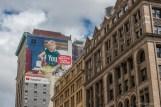Facade publicitaire New York