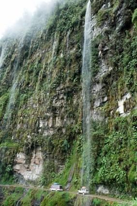 La route de la mort - Yungas - Bolivie