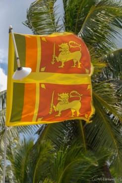 Drapeau srilankai Tangalle -Sri Lanka