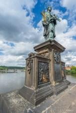 Pont Charles (Karlu Most) Prague - République tchèque.