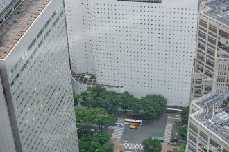 Vue depuis le Tokyo Metropolitan Government building - Shinjuku - Tokyo - Japon.