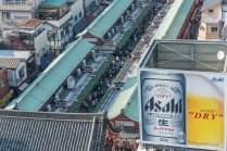 quartier d'Asakusa. Tokyo - Japon.