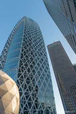 Cocoon Tower - Quartier de Shinjuku, Tokyo - Japon.