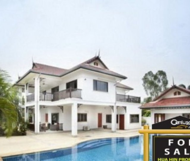 5 Bedroom House For Sale In Hua Hin Prachuap Khiri Khan