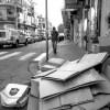 Kartonagen in Tel Aviv // Cardboard in Tel Aviv
