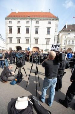 Demonstration und Stellungnahmen_150