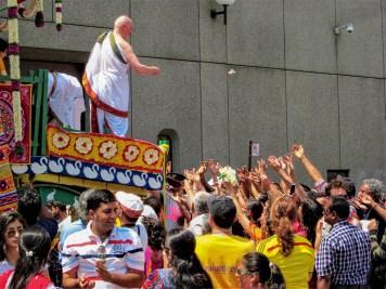 Religiöser Umzug in Toronto, Kanada. Juli 2015 // Religious parade in Toronto, Canada. July 2015