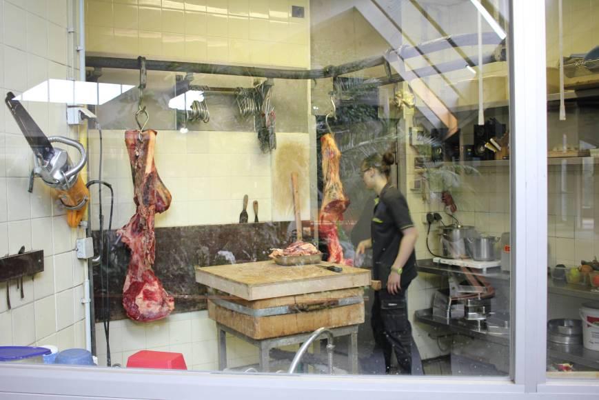 Berlin Zoo's Butchery